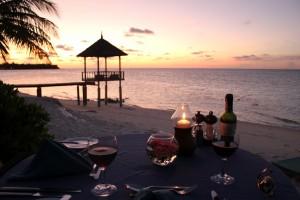 Malediven Prive diner