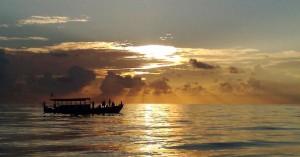 Nachtvissen Malediven