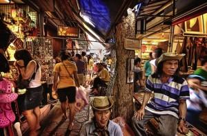 Chatuchak markt Bangkok