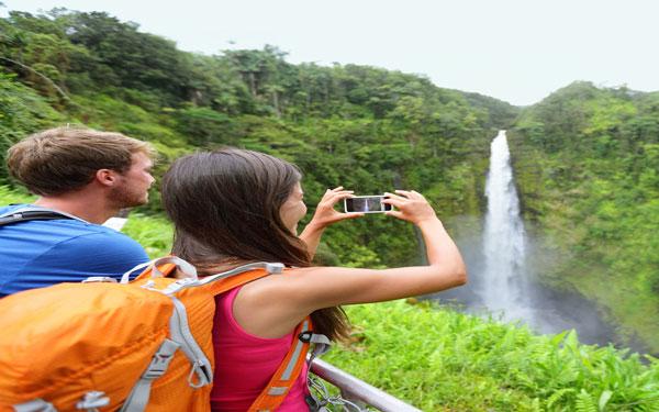 Huwelijksreis-Hawaii