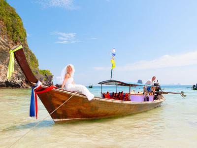 huwelijksreis thailand