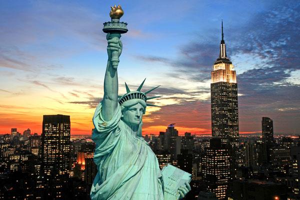 Huwelijksreis New York Vrijheidsbeeld