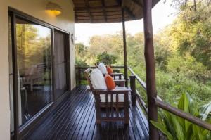 Huwelijksreis Zuid-Afrika Kurhula balkon