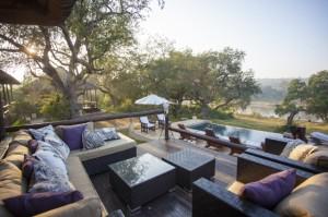 Huwelijksreis Zuid-Afrika Kurhula zwembad